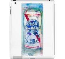 Pabst Blue Ribbon Beer Can iPad Case/Skin