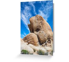 WHALE ROCK VERTICAL Greeting Card