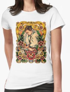 Old Timers - Amund Dietzel Womens Fitted T-Shirt