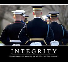 Integrity: Inspirational Quote and Motivational Poster by StocktrekImages