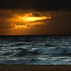 Sun And Surf Rising by Hapatography