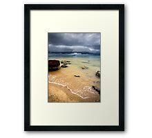 Storm Clouds on the Horizon Framed Print
