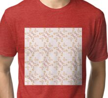 Abstract  pattern with brown elements Tri-blend T-Shirt