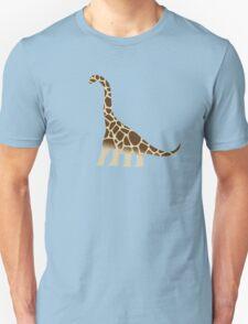 Brachiosaurus Giraffe T-Shirt
