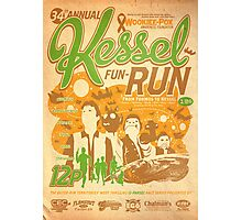 Kessel Fun-Run (12-Parsec Race to Cure Wookiee-Pox) Photographic Print