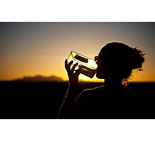 The drinker Photographic Print