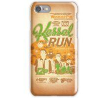 Kessel Fun-Run (12-Parsec Race to Cure Wookiee-Pox) iPhone Case/Skin