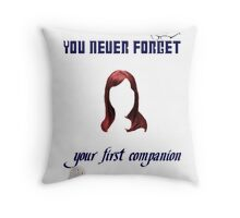 Your First Companion Throw Pillow