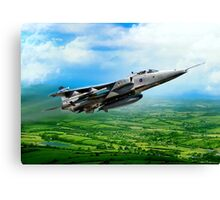 Royal Air Force Jaguar Canvas Print