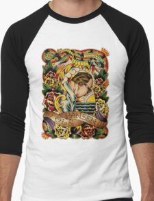 "Old Timers - Ole Hansen ""Tattoo Ole"" Men's Baseball ¾ T-Shirt"