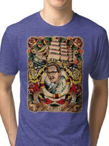 "Old Timers - Norman Collins ""Sailor Jerry"" Tri-blend T-Shirt"