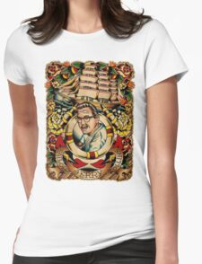 """Old Timers - Norman Collins """"Sailor Jerry"""" Womens Fitted T-Shirt"""