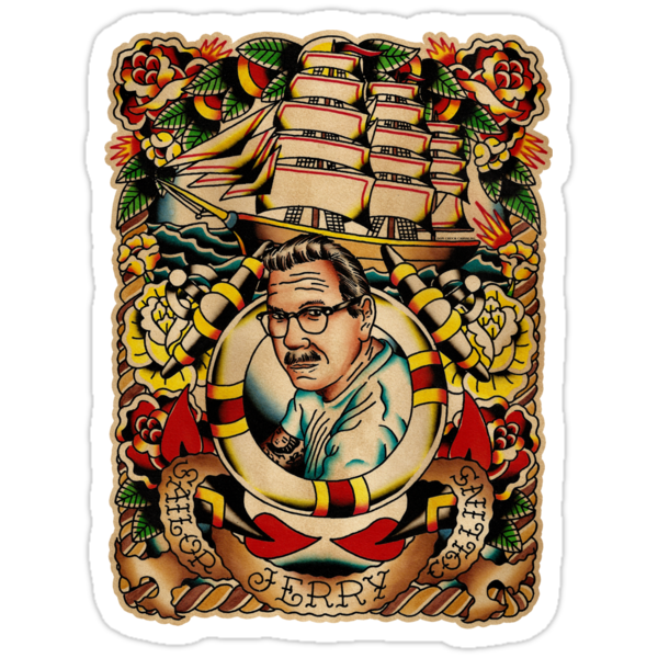 "Old Timers - Norman Collins ""Sailor Jerry"" by chuckcarvalho"