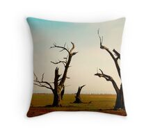 Bellbrae Trees Throw Pillow