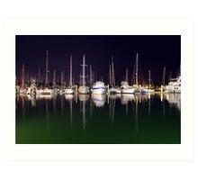 Cullen Bay Boats Art Print
