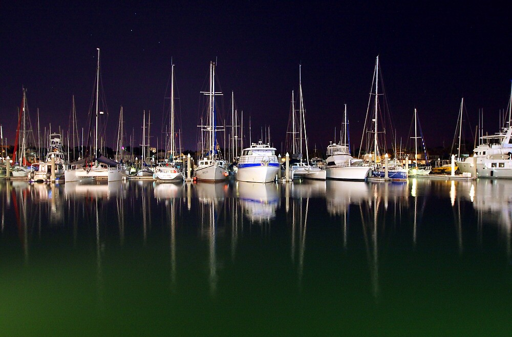 Cullen Bay Boats by Erik Holt