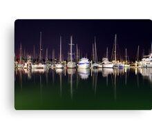 Cullen Bay Boats Canvas Print
