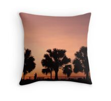 Cullen Bay Ferns Throw Pillow