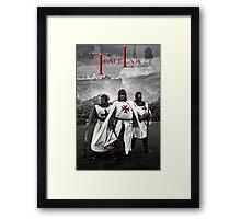Knights Templar! Framed Print