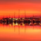 Cullen Bay Sunset by Erik Holt