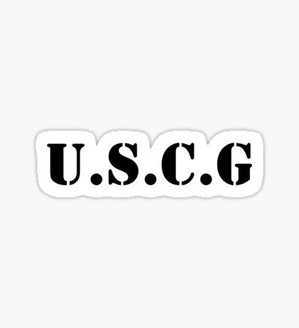 USCG Sticker