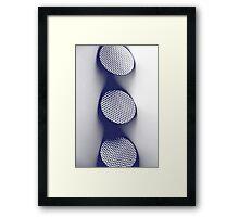 Circle Abstract Framed Print
