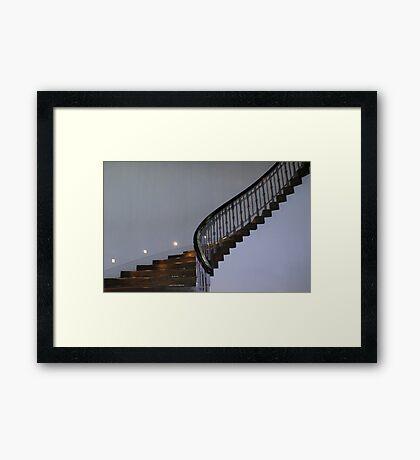 Stairway to Heaven. Framed Print
