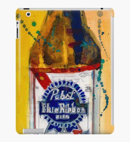Pabst Blue Ribbon Beer Bottle iPad Case/Skin