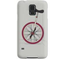 Unicycle By Wall Samsung Galaxy Case/Skin