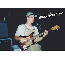 Mac + Guitar  Photographic Print