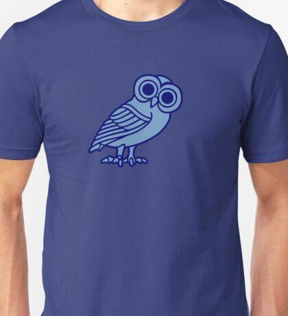 greek owl greece athena Unisex T-Shirt