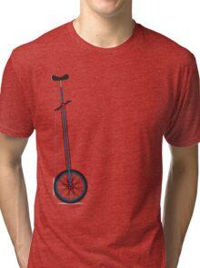 Very Tall Unicycle Tri-blend T-Shirt