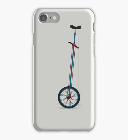 Very Tall Unicycle iPhone Case/Skin