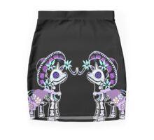 Skeleton gothic my little pony Mini Skirt