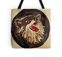 The Wolf, Southwestern theme, watercolor Tote Bag
