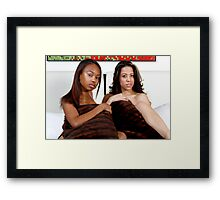 Tag Team Framed Print