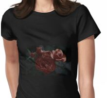 Four roses Womens Fitted T-Shirt