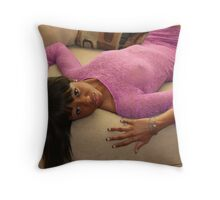 Laid Back Throw Pillow