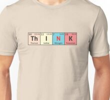 Periodic Table - Think Unisex T-Shirt