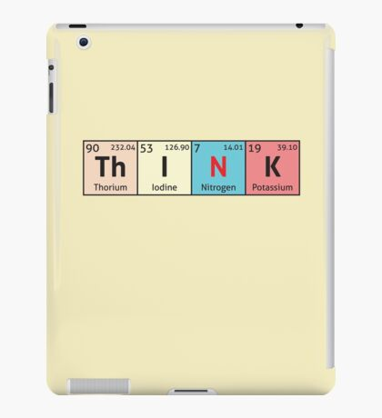 Periodic Table - Think iPad Case/Skin