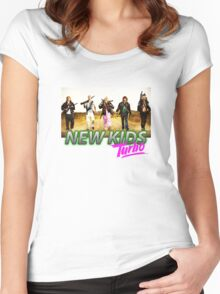 New kids Women's Fitted Scoop T-Shirt