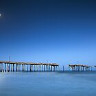 Frisco Pier Cape Hatteras Outer Banks NC - Crossing Over by Dave Allen