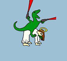 Dinosaur Riding Jesus T-Shirt
