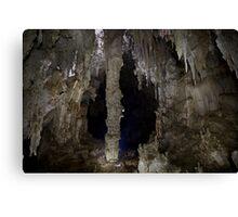 Big Column Cavern Canvas Print