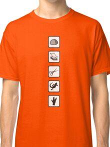 Rock-Paper-Scissors-Lizard-Spock Classic T-Shirt