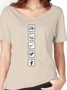 Rock-Paper-Scissors-Lizard-Spock Women's Relaxed Fit T-Shirt