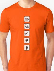 Rock-Paper-Scissors-Lizard-Spock Unisex T-Shirt