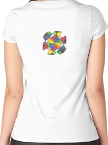 Pattern H3.1 Women's Fitted Scoop T-Shirt