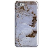 Holes in the Snow    ^ iPhone Case/Skin