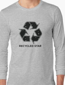 Recycled Star - Inverted Long Sleeve T-Shirt